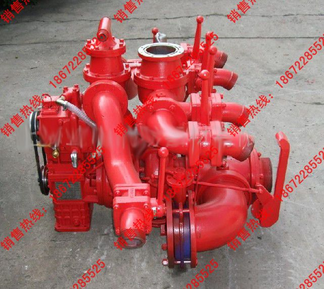 CB10/80-XZ低压(中压)车用消防泵