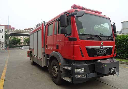 德国曼抢险救援消防车