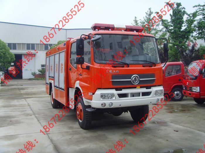 天锦四驱消防车