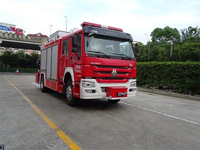 汕德卡抢险救援消防车