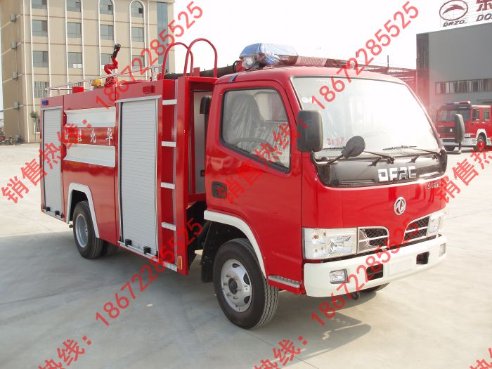 东风单排水罐消防车