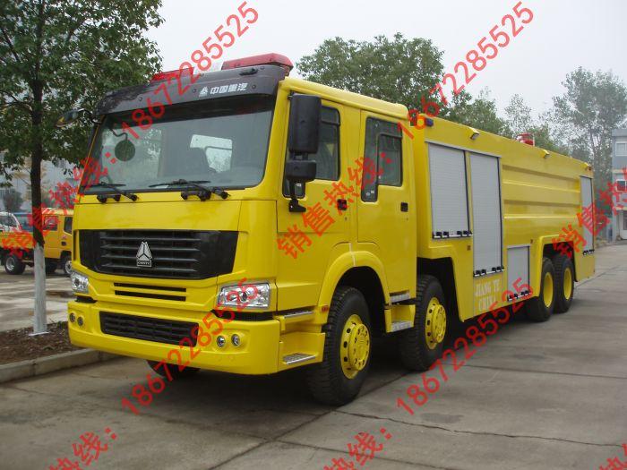 豪沃重型森林消防车